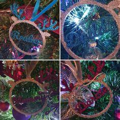 #personalisedbaubles #itslovelybydonna #reindeer #glitterdecorations #namedgifts #personalisedtreedecorations #christmas decorations Reindeer, Fair Grounds, Christmas Decorations, Glitter, Gifts, Presents, Christmas Decor, Ornaments