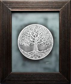 Tree of Life Artwork, i would love this as a tattoo