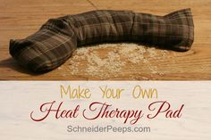 This post will show you how to make rice heat therapy pads that you can use for more than just sore muscles. Use the same technique to make handwarmers.