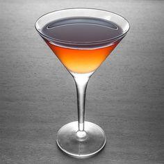 A Thief in the Night oz Larceny Kentucky Straight Bourbon 1 oz Averna Amaro oz Lemon juice oz Honey syrup (one part honey, one part water) Glass: Cocktail Whiskey Cocktails, Cocktail Drinks, Cocktail Recipes, Cocktail Night, Martini Recipes, Bar Drinks, Yummy Drinks, Alcoholic Drinks, Vodka Drinks
