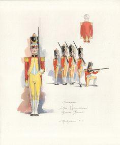 Soldier Sketch by Robert Perdziola