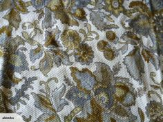 Tapestry Fabric Scotch-Guarded  Heavy Weight 137 cm X 137 cm