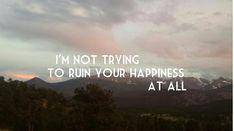 RUIN- SHAWN MENDES- lyrics - Mountains - Illuminate album - Sunset