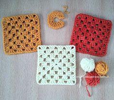 Lana, Vintage Crochet, Beginner Crochet, Magic Ring, How To Knit, Free Pattern, Initials, Hand Made