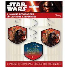 Hanging Star Wars Decorations, 3ct