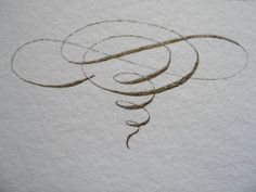 calligraphy  I love a beautiful flourish and here is a gorgeous example. This pin actually links to a very talented lady and her wedding calligraphy blog. It's worth a look:)