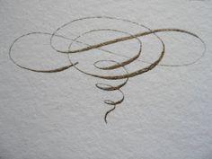 calligraphy - Repinned by UXSherlock.