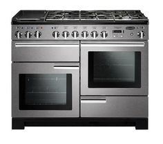 Buy The Rangemaster Professional Deluxe 110 Induction Stainless Steel Range Cooker 101540 From CookersAndOvens At A Fantastic Price. Best Range Cookers, Electric Range Cookers, Dual Fuel Range Cookers, Stainless Steel Doors, Stainless Steel Appliances, Kitchen Appliances, Foyers, Induction Range Cooker, Oven And Hob