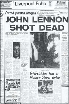 Norton reveals his admiration for John Lennon and gives a gentlemanly twist to his most iconic song. Newspaper Front Pages, Vintage Newspaper, Newspaper Article, History Facts, World History, Front Page News, Les Beatles, Newspaper Headlines, Headline News