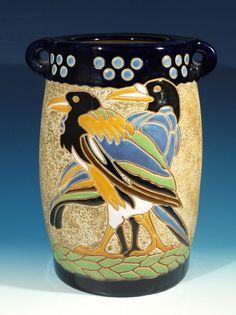 Bohemian Art Deco Vase C1930
