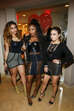 The Fifth Harmony ladies at the 2015 iHeartRadio Music Awards After Party