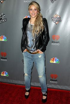 Shakira.... love her and her style