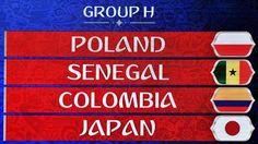Grupa Polski na Mistrzostwach Świata 2018 - Polska, Senegal, Kolumbia, Japonia • Analiza rywali reprezentacji Polski w grupie H • Zobacz #polska #mistrzostwaswiata #pilkanozna #futbol #sport