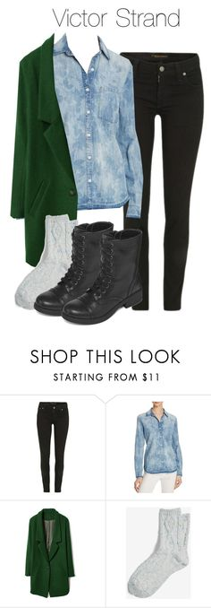 """""""Victor Strand - ftwd / fear the walking dead"""" by shadyannon ❤ liked on Polyvore featuring Nudie Jeans Co., Joe's Jeans, Express and Arizona"""