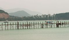 Rickety jetty in Koh-Samui from Way Too Much Coffee * Part of the A-Z Guidebook Link Up.This month 'K'. Join in and learn more * at TIFFIN - bite sized food and travel adventures - Bite Size Food, Koh Samui Thailand, Too Much Coffee, Guide Book, Adventure Travel, Asia, Island, World, Link