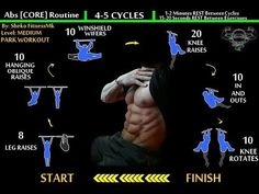 BodyWeight ABS - Core Workout [Calisthenics Routine]