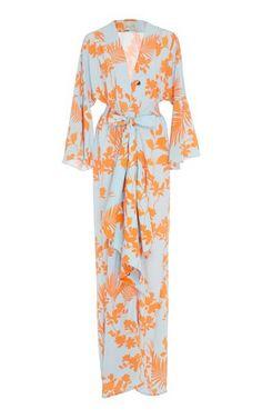5e7e63f6769b Gifts for Her  M O Exclusive Signature Crepe De Chine Kimono by Johanna  Ortiz