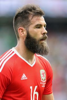 The Weirdest, Wildest, and WTF-iest Hair from Euro 2016 (So Far) Professional Soccer, Bear Men, Beard Care, Hot Guys, Hot Men, Gq, Physique, Hair Cuts, Nude