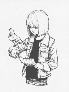 Mello, age 15: Now where was I goin-... -_- Fuck New York and these fucking pigeons.