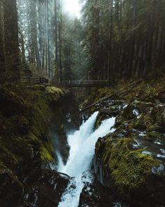 Sol Duc Falls WA USA | Dylan Kato | #adventure #travel #wanderlust #nature #photography