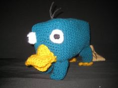 Yup, gonna make Perry!!! Needs a little tweaks but this is the closest free pattern I can find at the moment.