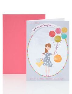 To a Stylish Granddaughter Birthday Card | M&S