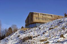 Celosías Centenarias / Hotel Alpino En Celje, Eslovenia, De Arhitektura Krušec.
