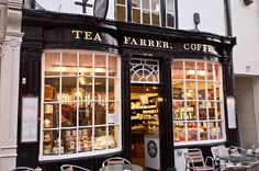 Farrer's is a delightful tea room in Kendal, Cumbria, England.  They are known world wide for their teas and coffees.  Definitely a ploughman's lunch with a piece of heavenly carrot cake for dessert!