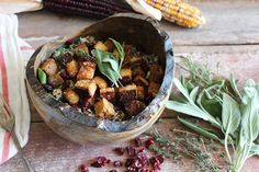 Maple Tempeh with Herbed Quinoa | Nutrition Stripped