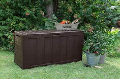 Keter Outdoor Garden Storage Box Patio Bench Seat, Waterproof Heavy Duty · $48.40