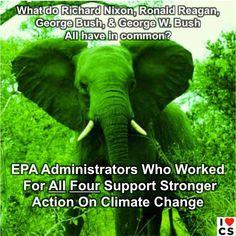 Former GOP EPA chiefs back Obama on #climatechange  Grist.org:
