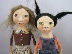 Folk Art dolls (I love these!!)