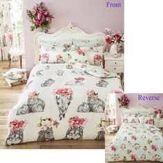 Sketch Line Animal & Flower Printed Duvet Quilt Cover Set — Linens Range Online Bedding Stores, King Duvet Cover, King Size Bedding Sets, Best Linen Sheets, Bed, Discount Bedding Sets, Duvet Cover Sets, Duvet Bedding Sets, Duvet Covers
