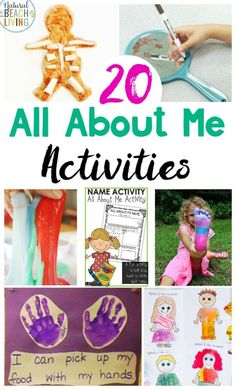 25+ All About Me Preschool Theme Activities - Natural Beach Living