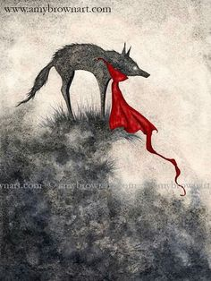 Red Riding Hood by Amy Brown