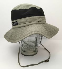 4b77dddec67 Details about Vintage Columbia Sun Hat USA Packable Vented Paddling Hiking  Outdoor Medium NICE