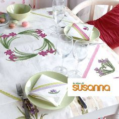LE IDEE DI SUSANNA č. 310 - únor 2016 na www.finery.cz Napkins, Tableware, Dinnerware, Towels, Dinner Napkins, Tablewares, Dishes, Place Settings