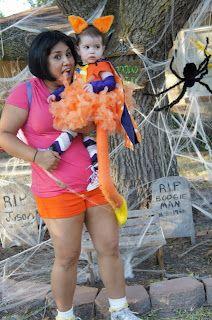 dora and swiper dora was easyshorts sports store family costumesdiy costumeshalloween - Swiper Halloween Costume