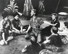 Mary Martin, Peter Pan.  A rare actor who could work with children and never condescend to them.  Why her Pan is the best, still.