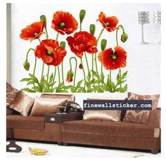 DIY Flower Wall Stickers Decal Art Vinyl Flower Mural Home Room Decor Removable 6915422001822 Baby Room Wall Decals, Removable Wall Stickers, Flower Wall Stickers, Mirror Wall Stickers, Wall Stickers Murals, Vinyl Wall Decals, Vinyl Art, Art Decor, Diy Home Decor