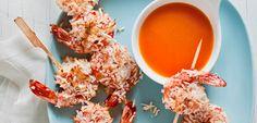 Coconut Shrimp with Spicy Orange Dipping Sauce - Tosca Reno