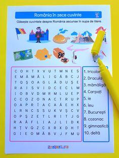 Math For Kids, Activities For Kids, 1 Decembrie, Worksheets For Kids, Homeschool, Study, Diy Crafts, Children, Young Children