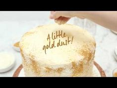 This New Years Eve dessert will bring life to your party this year. Try this champagne cake recipe from Jessica Merchant, Founder of How Sweet It Is. Pear Recipes, Cake Recipes, Dessert Recipes, Desserts, Pear And Almond Cake, Almond Cakes, New Years Eve Dessert, Champagne Cake, Glitter Cake