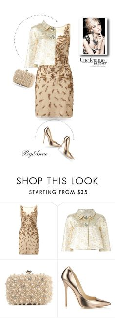 """""""Fashion !!"""" by anne-977 ❤ liked on Polyvore featuring Aidan Mattox, Dolce&Gabbana, Lulu Townsend and Jimmy Choo"""
