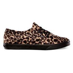 VANS Furry Leopard Authentic Lo Pro Womens Shoes