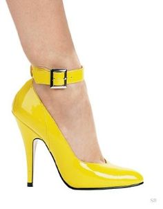 Ellie Shoes E-8221, 5 Heel Pump With Ankle Strap: from $42.55
