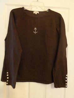 Vintage. Armor Lux. Women's. Womens. Nautical. Wool.