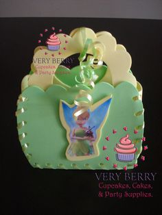 24 Flower Tinkerbell Candy Goodies by VeryberryParty on Etsy, $144.00