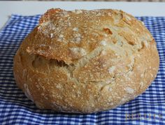 Chleba bez hnětení podruhé Czech Recipes, Russian Recipes, Bread Recipes, Cooking Recipes, Bread And Pastries, Home Baking, Pizza Dough, Bread Baking, Good Food