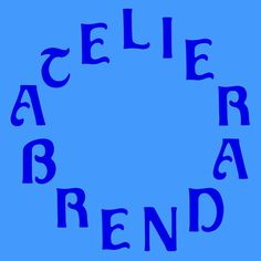 New graphic design by Atelier Brenda!
